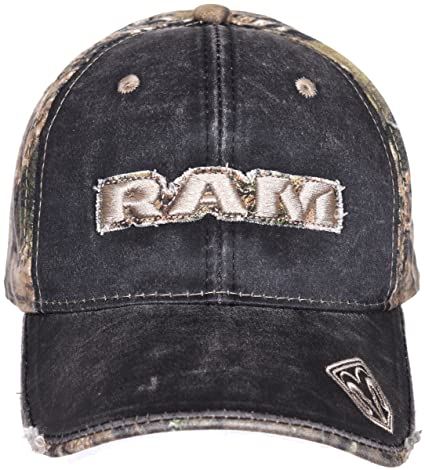 ef8affa4ed50c Image Unavailable. Image not available for. Color  Dodge Ram Camouflage  Adjustable Headwear Ball Cap a Mossy Oak Woodland Hat
