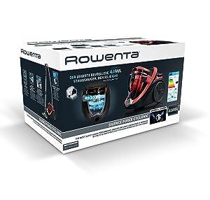 91Nm%2BRG52JL. SL300  Rowenta RO7623EA Silence Force Cyclonic 4A, aspirapolvere a traino senza sacco da 750 W e 2,5 l