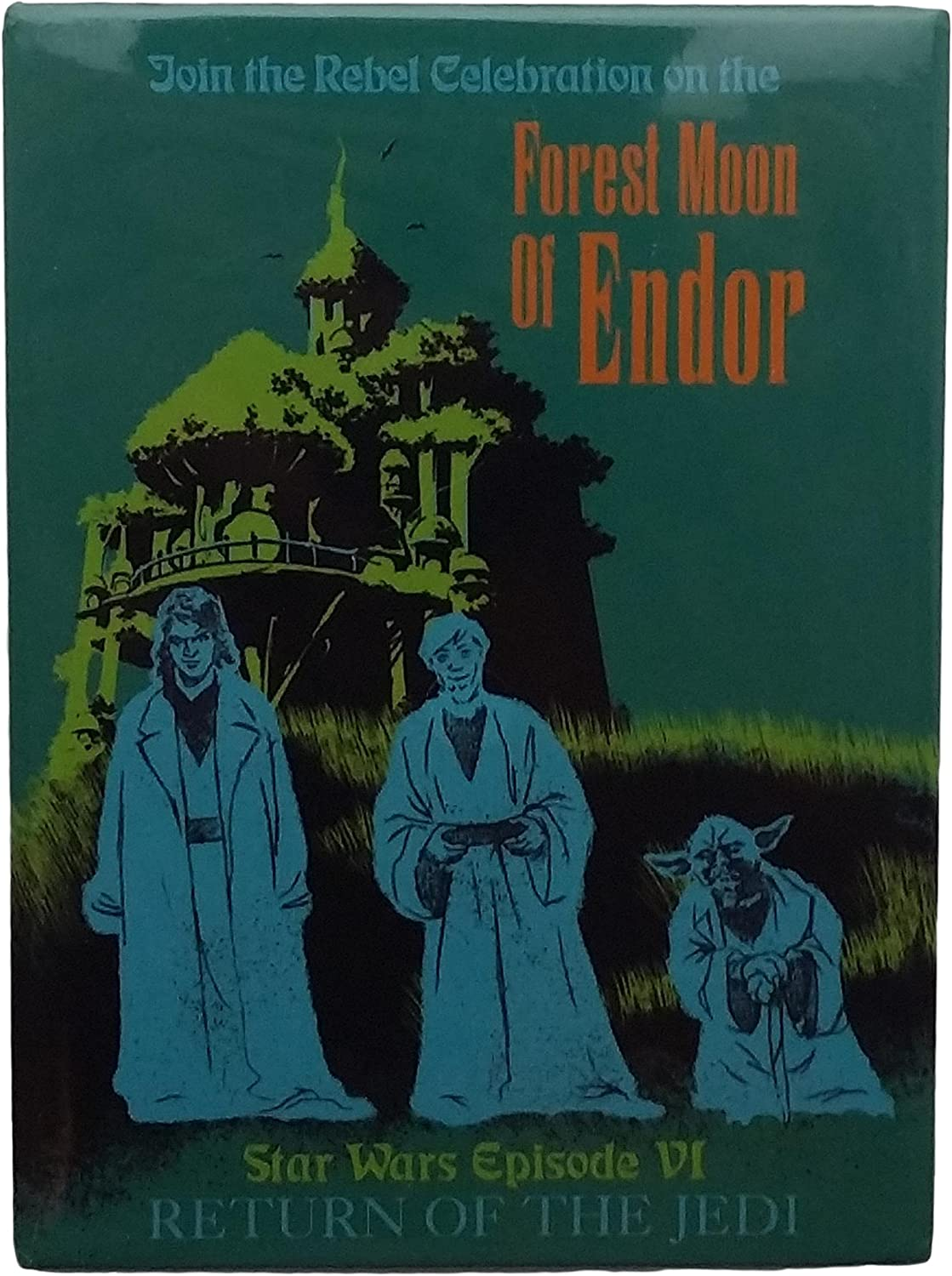 Vintage Haunted Mansion Disneyland Poster Available in 5 Sizes