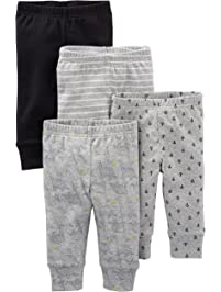 Simple Joys by Carter's baby-boys 4-Pack Pant Pants