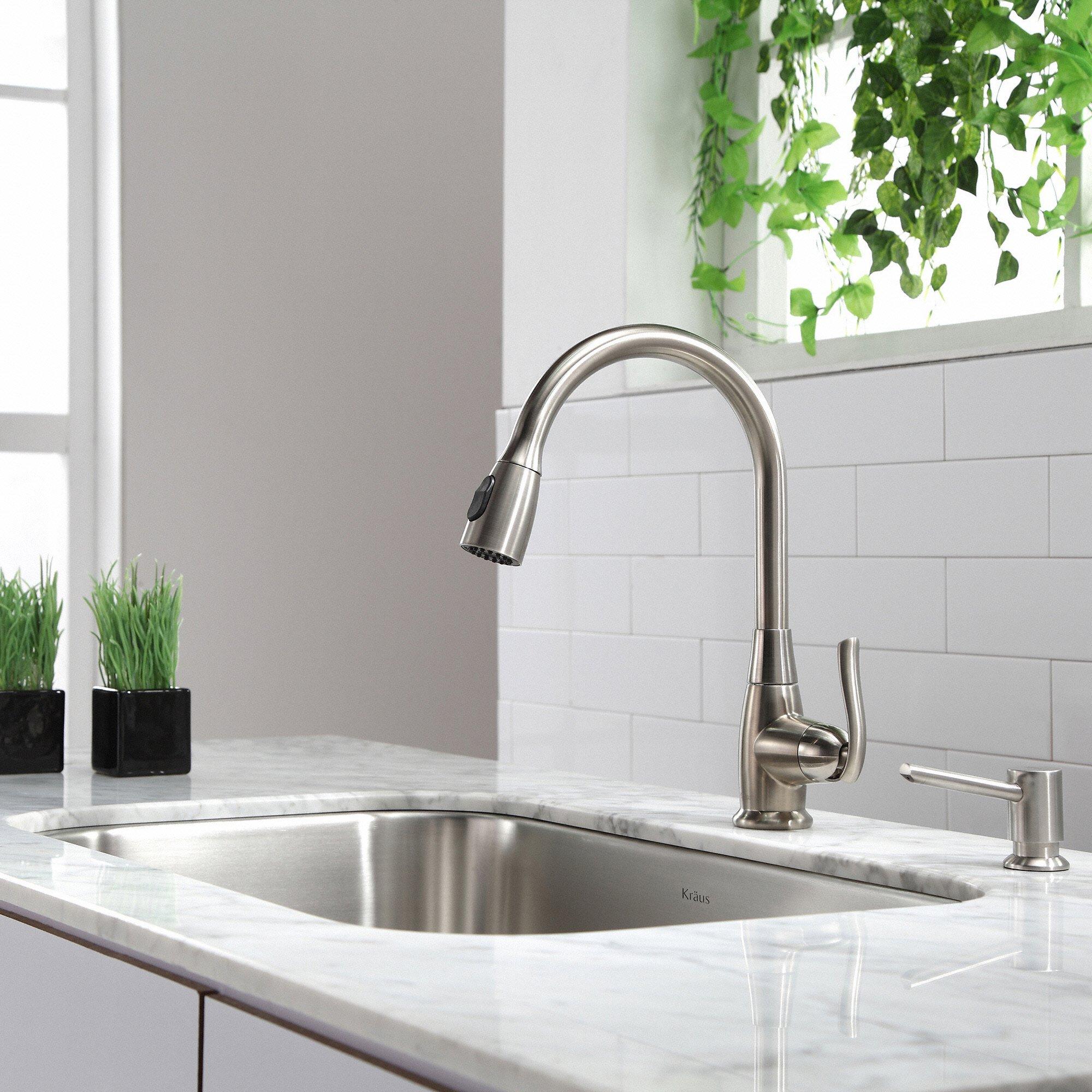 Kraus KBU14 31-1/2 inch Undermount Single Bowl 16-gauge Stainless Steel Kitchen Sink by Kraus (Image #13)