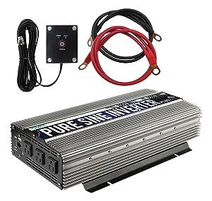 Power TechOn PS1003 Pure SINE Wave Inverter 2000w Cont/4000w Peak