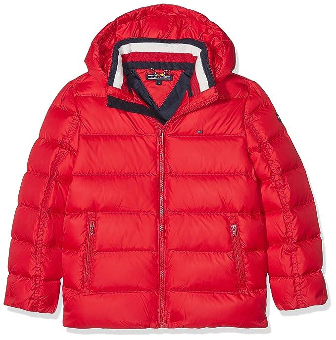 15bbece60ec5 Tommy Hilfiger Boy s AME Thkb Basic Down Jacket  Amazon.co.uk  Clothing
