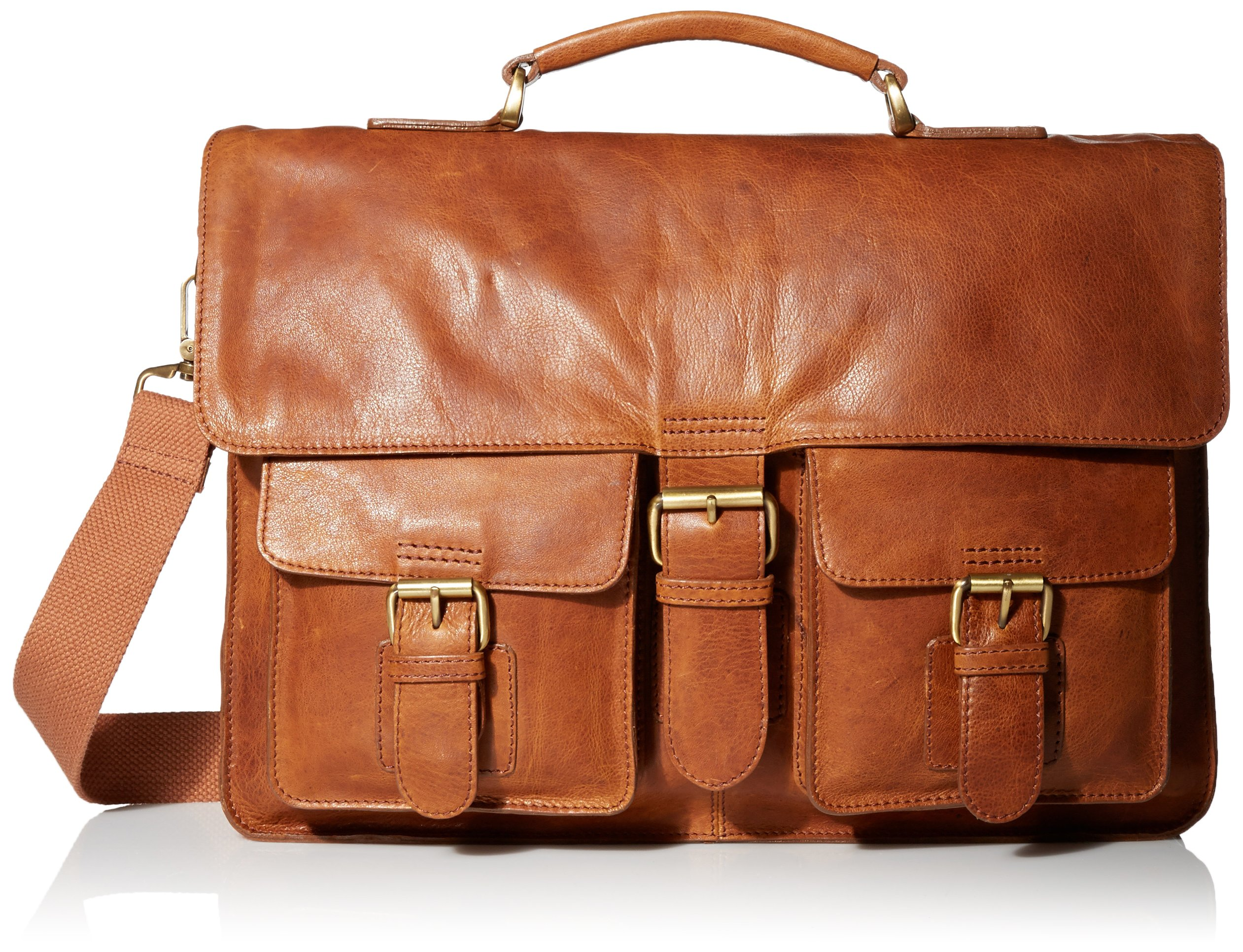 Rawlings Rugged Messenger, Cognac, One Size by Rawlings