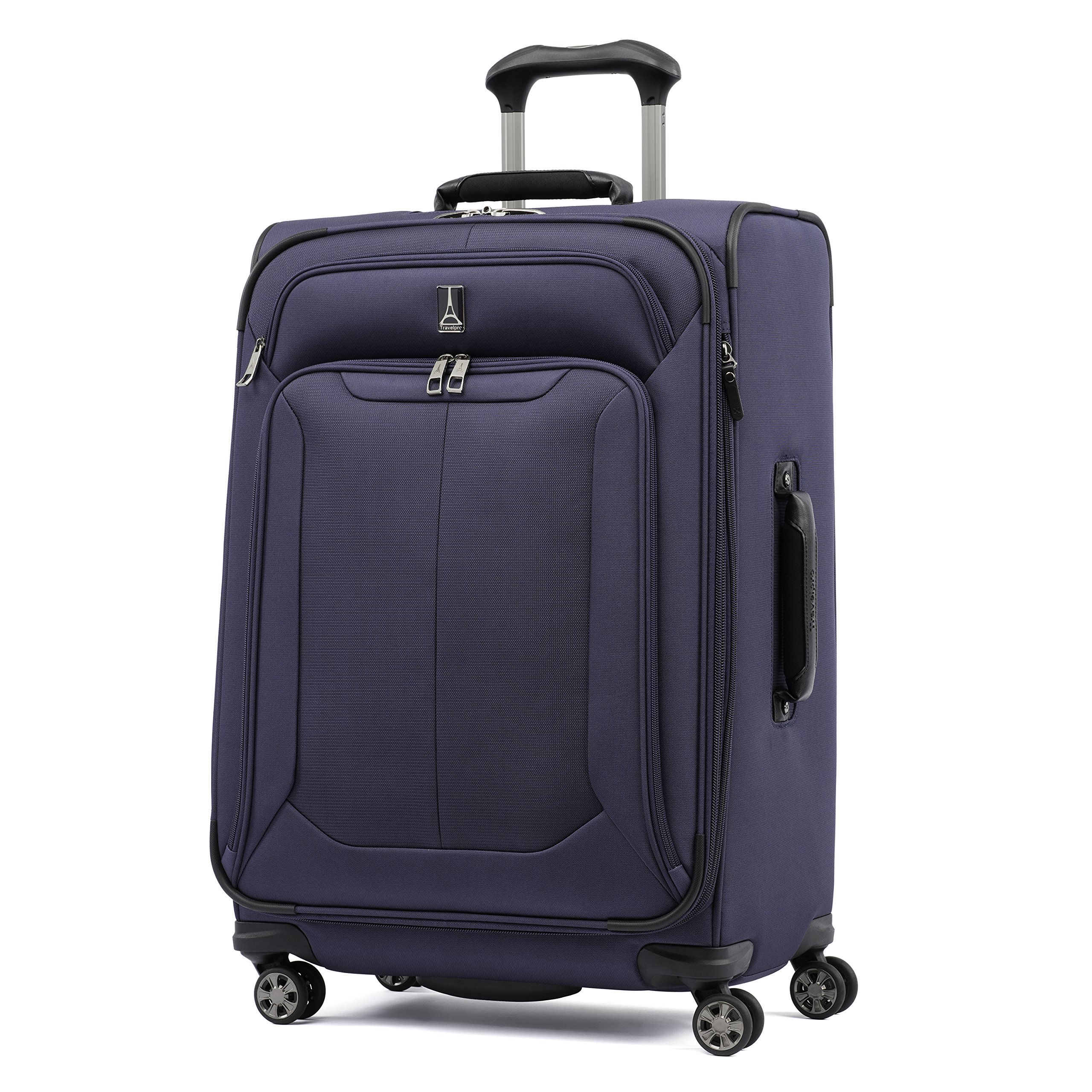 Travelpro Skypro Lite 25'' Expandable 8-Wheel Luggage Spinner (Navy)