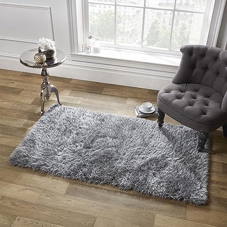 Grey Rug 80x150 120x170 160x230 Silver Grey Rug Carpet for Living Room Bedroom
