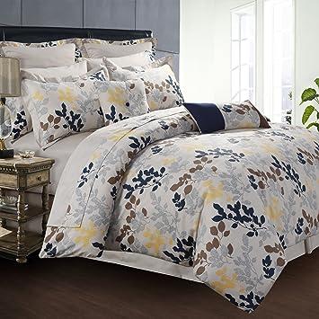 Amazon.com: Tribeca Living 300TC algodón egipcio algodón ...