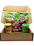 PURPLEGIANTS© Sour Mix (2 x 28g Warhead Extreme Sour, 1 x 70g Warheads Sour Chewy Cubes, 1 x 42g Yellow Toxic Waste Drum, 1 x 42g Green Toxic Waste Drum)