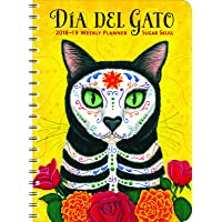 Sugar Skull 2018 - 2019 On-the-Go Weekly Planner: 17-Month Calendar with Pocket (Aug 2018 - Dec 2019, 5 x 7 closed)