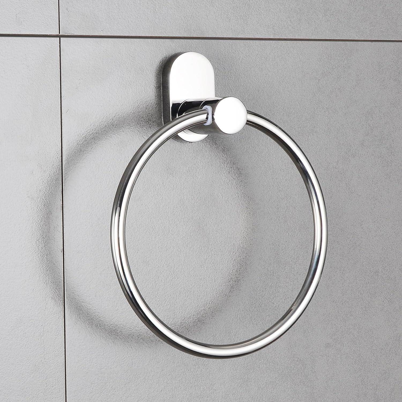 Chrome Estora 50-17000 Brescia Towel Ring