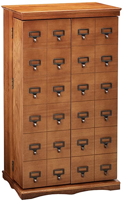 Bon LDE LESLIE DAME Leslie Dame CD 612LD Solid Oak Mission Style Multimedia  Storage Cabinet With
