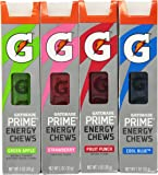 Gatorade G Series 01 Prime Energy Chews Mixed 4 Pack (4 Sleeves)