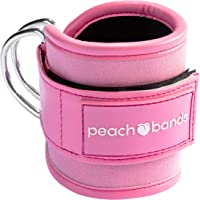 Peach Bands | Padded Ankle Strap for Cable Machines
