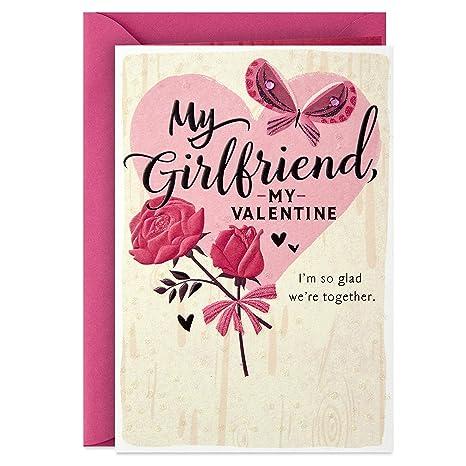 Hallmark Valentines Day Card To Girlfriend My Valentine
