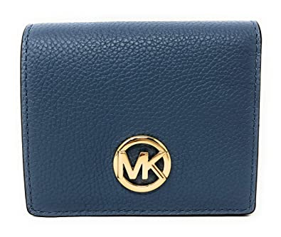 be6996b70388fe Amazon.com: Michael Kors Fulton Carryall Leather Card Case Wallet in ...