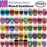 Bath and Body Works Anti-Bacterial Hand Gel 20-Pack PocketBac Sanitizers, Assorted Scents, 1 fl oz each