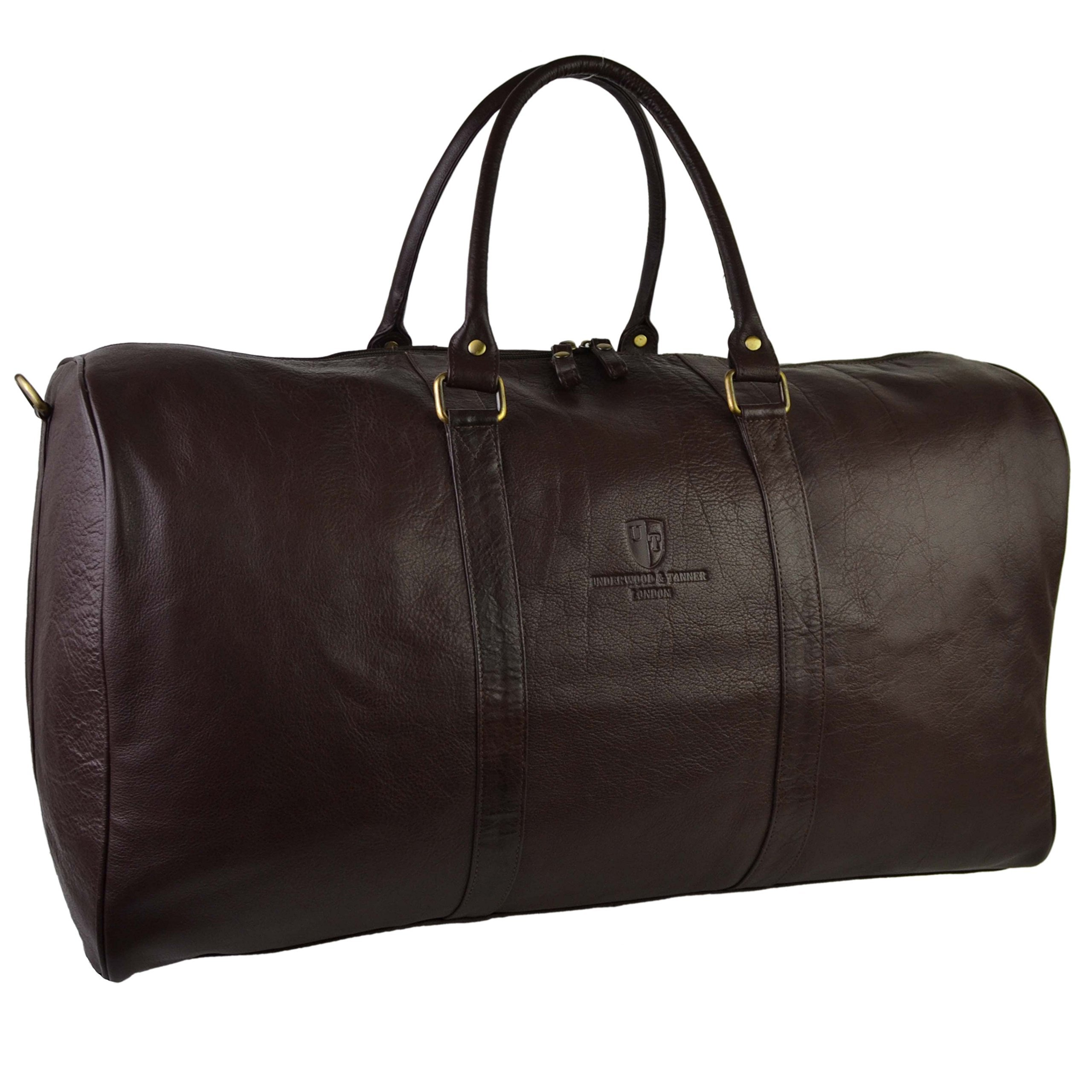 Underwood & Tanner London Women's Leather Holdall N/A Brown