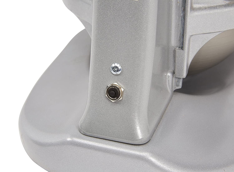 3-Speed Gear-Driven Hobart N50-60 5-Quart Commercial Countertop Mixer Gray