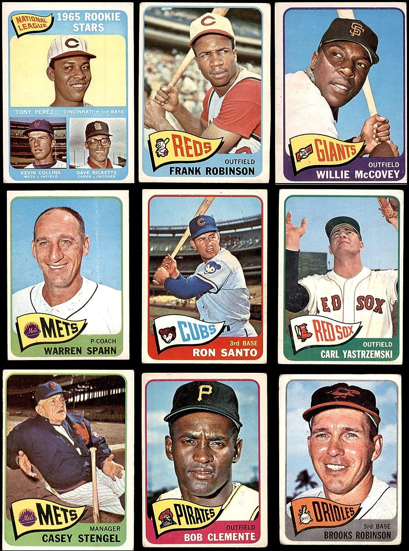 1965 Topps Baseball Near Complete Set (Baseball Set) Dean's Cards 2.5 - GD+ 91Nn2GMh48LSL1500_