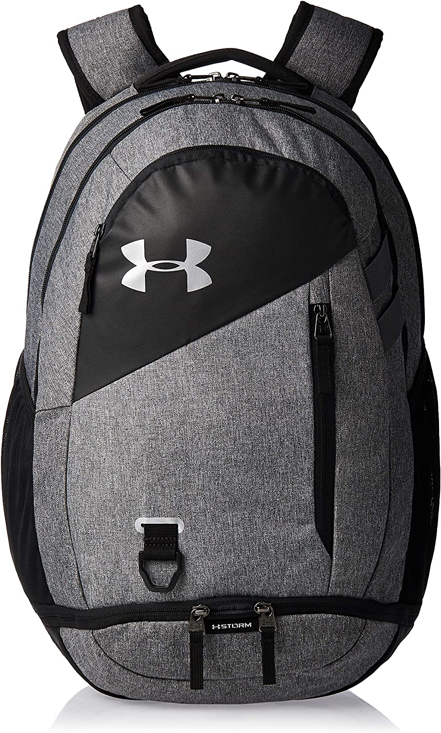 Under Armour Adult Hustle 4.0 Backpack , Black (002)/Black , One Size: Clothing
