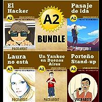 Spanish Novels: Pre Intermediate's Bundle A2 - Five Spanish Short Stories for Pre Intermediates in a Single Book (Learn Spanish Boxset #2) (Spanish Edition)