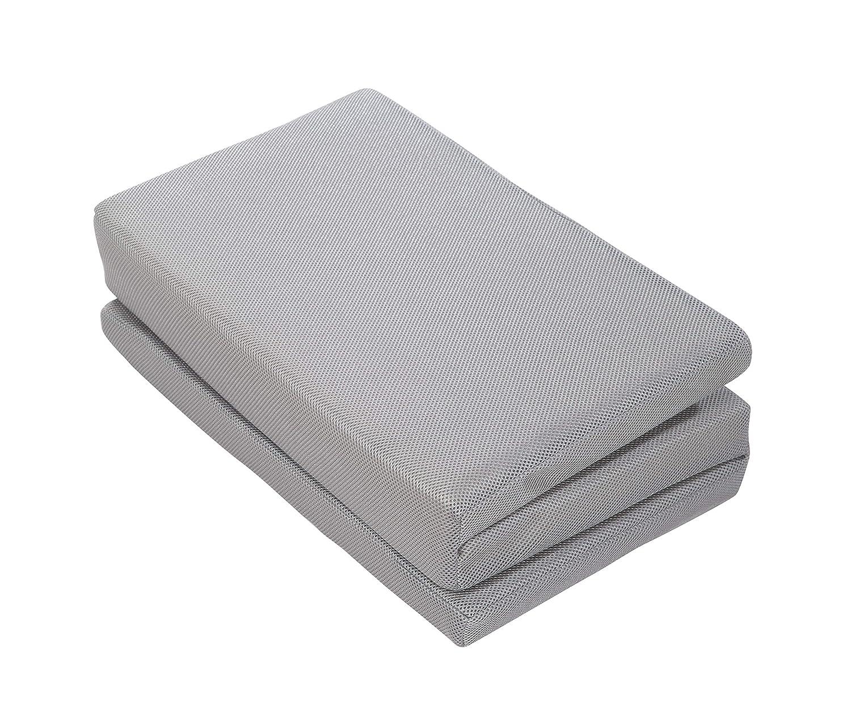 60 x 120 x 5,5 cm mehrfach gelocht Babybettmatratze mit bel/üftetem Markenschaumstoff f/ür ein optimales Schlafklima roba safe asleep Reisebettmatratze Kinderbettmatratze