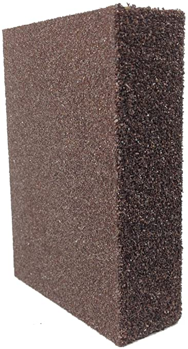 DuraSand Dual Grit Foam Sanding Block (12 Pack Coarse/Medium) - - Amazon.com
