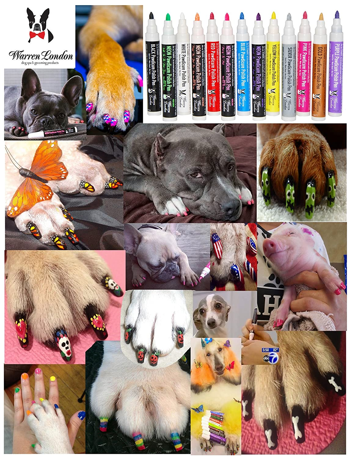 Warren london pawdicure polish pen dog nail polish amazon warren london pawdicure polish pen dog nail polish pet supplies solutioingenieria Image collections