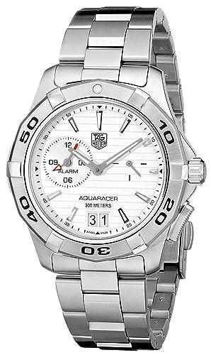 TAG Heuer WAP111Y.BA0831 - Reloj de Pulsera Hombre, Acero Inoxidable, Color Plata: Amazon.es: Relojes