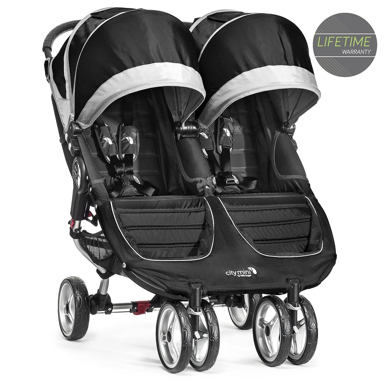Baby Jogger City Mini Double Stroller Black