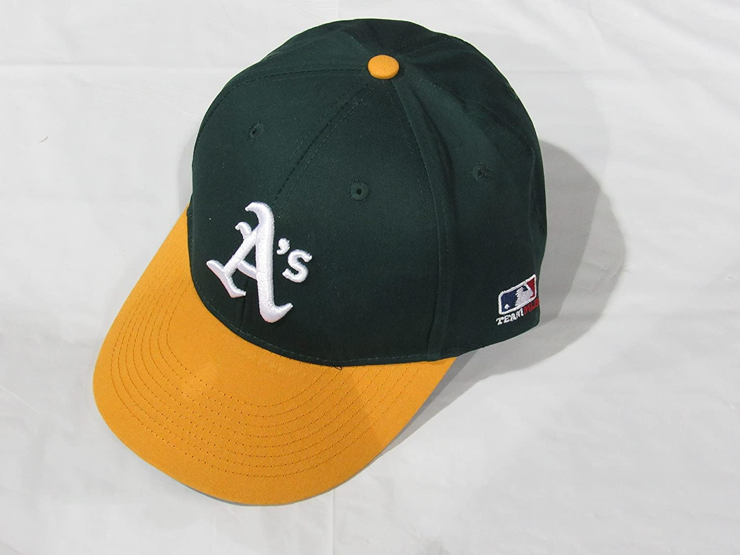 wholesale best service classic fit Amazon.com : Oakland Athletics/A's (Home - Green/Yellow) ADULT ...