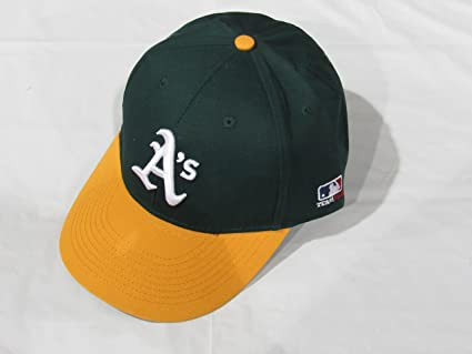 Amazon.com   Oakland Athletics A s (Home - Green Yellow) ADULT ... 8a6c9f8d844