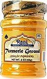 Rani Turmeric (Haldi) Root Powder Spice, (High Curcumin Content) 3oz (85g) ~ All Natural | 100% Pure, Salt Free | Vegan…