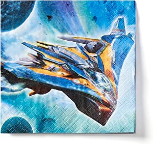 American Greetings Guardians of the Galaxy Party Supplies, Beverage Napkins (16-Count)