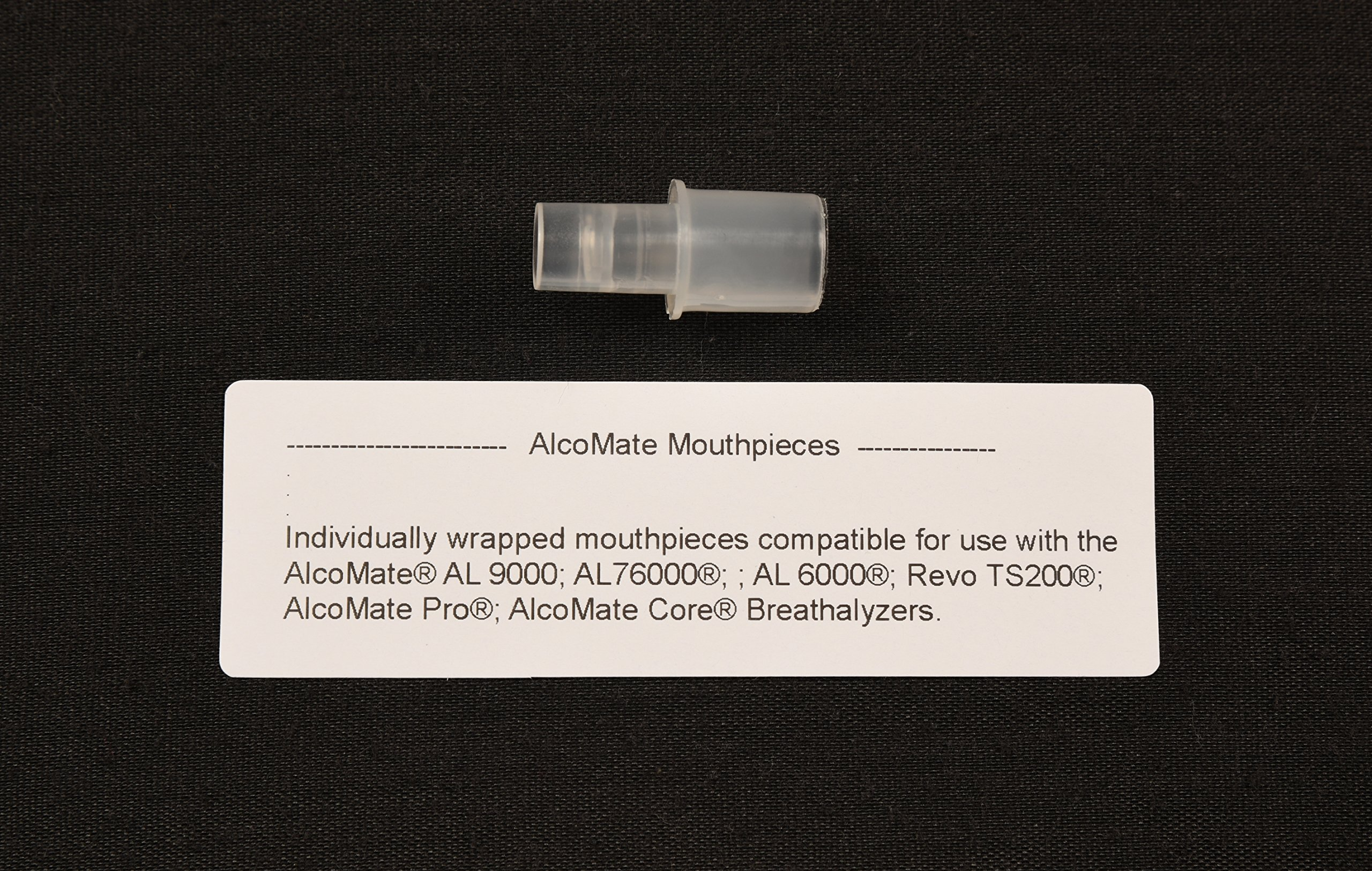 AL6000 Premium AlcoMate Professional Core Breathalyzer 150 Plastic Mouthpieces Breath Alcohol Testing by AlcoMate (Image #3)