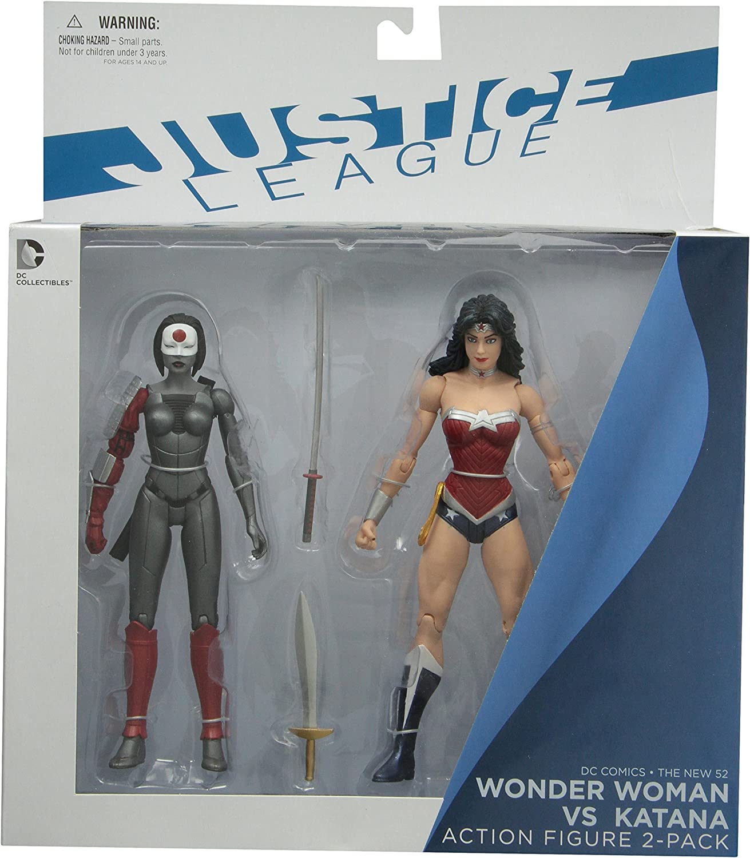 DC Collectibles DC Comics The New 52 Wonder Woman vs. Katana ...