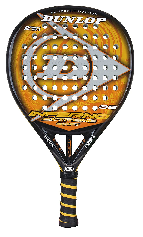 DUNLOP Inferno Extreme Soft - Pala de pádel: Amazon.es: Deportes y ...
