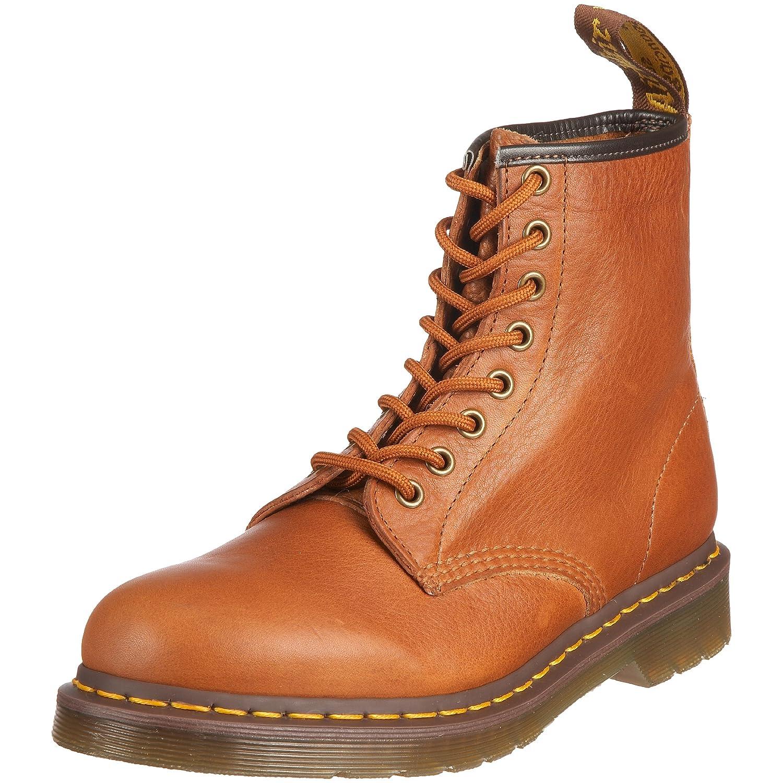 Gold Braun Dr. Martens Unisex-Erwachsene 1460 Combat Stiefel