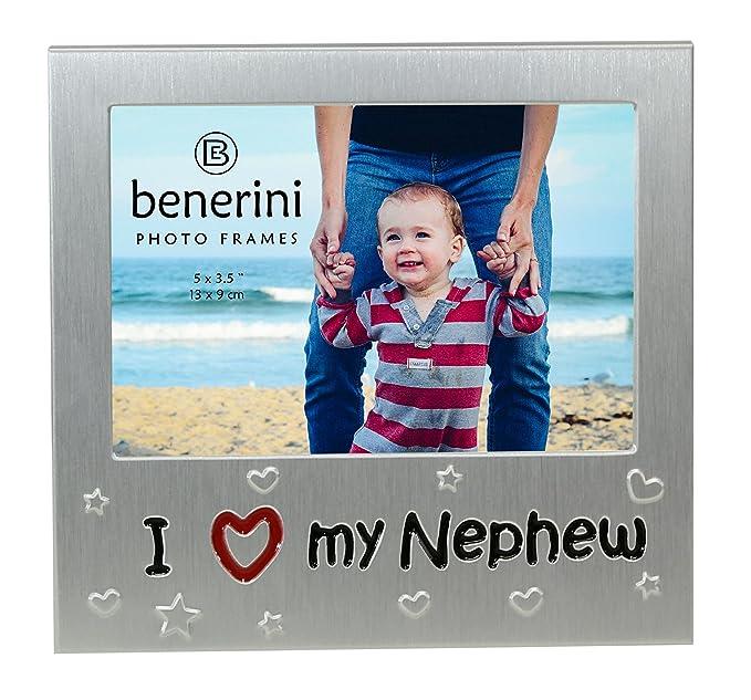 Amazon.com - benerini I Love My Nephew \' - Expressions Photo Picture ...