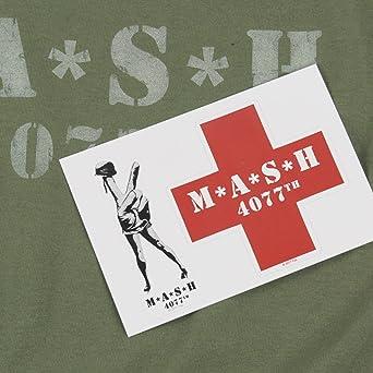 Amazon.com: Popfunk MASH - Camiseta y pegatinas con logotipo ...