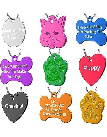 4ac31e25de04 Dog ID Tags   Amazon.com