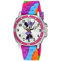 Kids' MN1104 Watch with Tie Dye Rubber Band