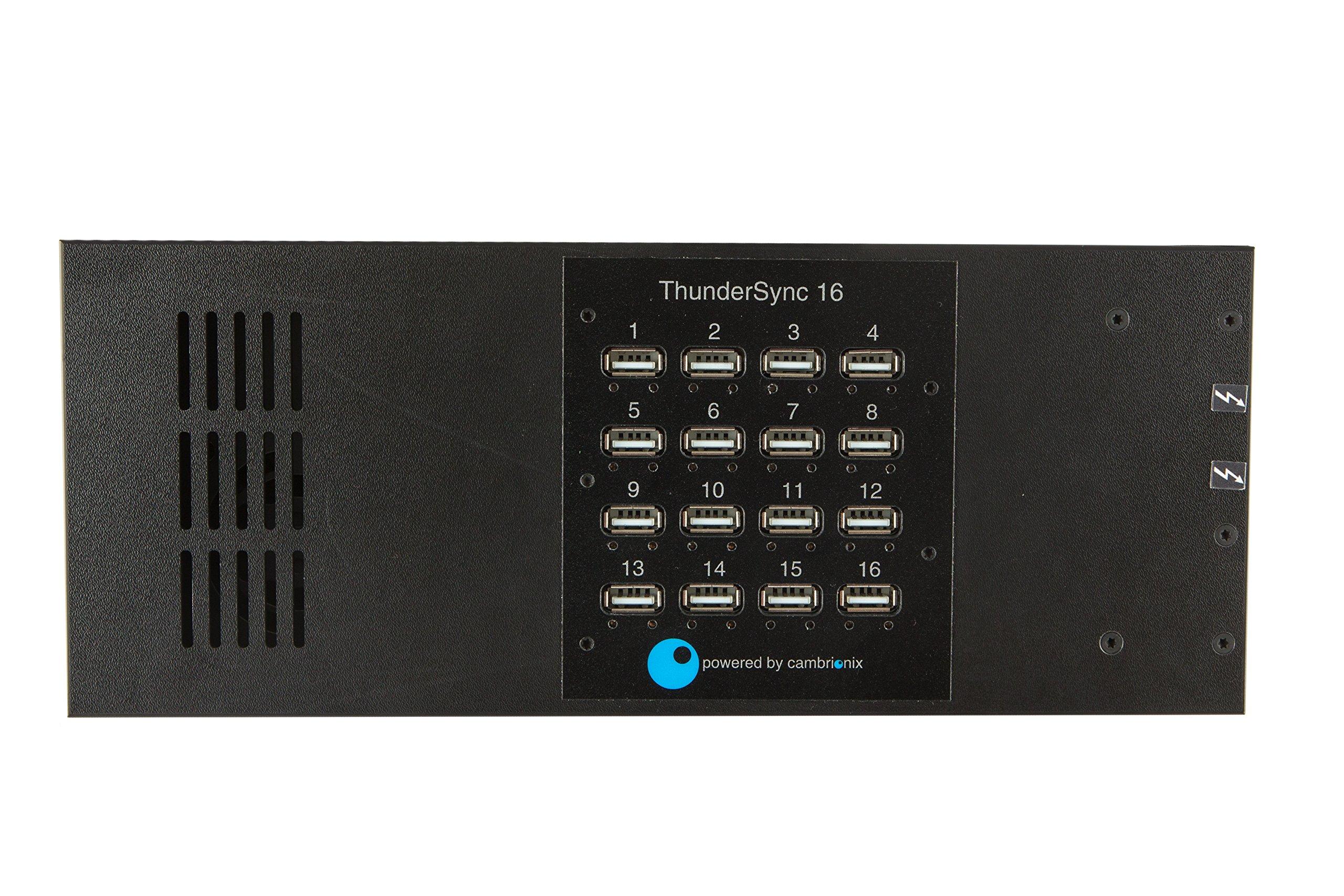 Datamation Systems DS-ThunderSync16 Universal USB Thunderbolt 16 Port Hub