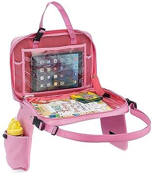 Bandeja de asiento de coche para niños con pasador de espalda acolchado exclusivo de CRADLE PLUS