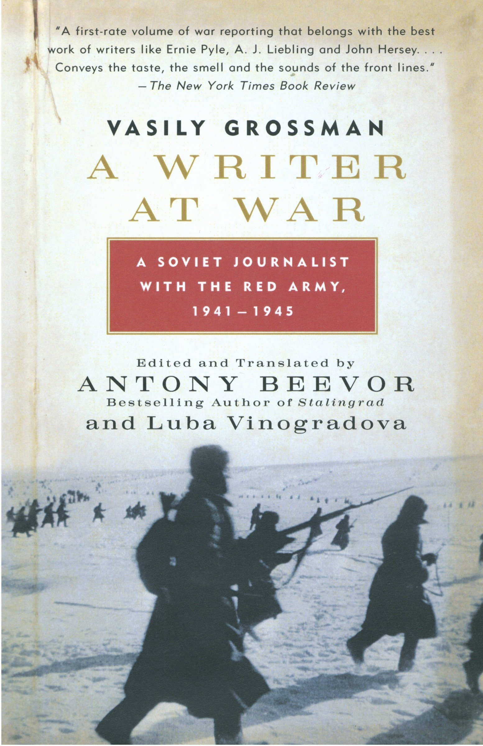 A Writer at War: A Soviet Journalist with the Red Army, 1941-1945 pdf