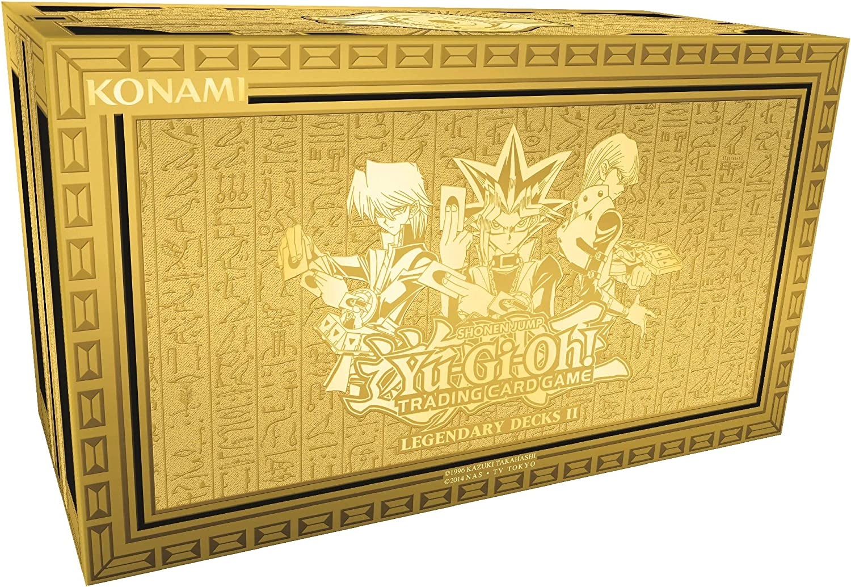 Yu Gi Oh! YGO-LD2-EN Legendary Decks II Caja de mazos de Cartas: Amazon.es: Juguetes y juegos