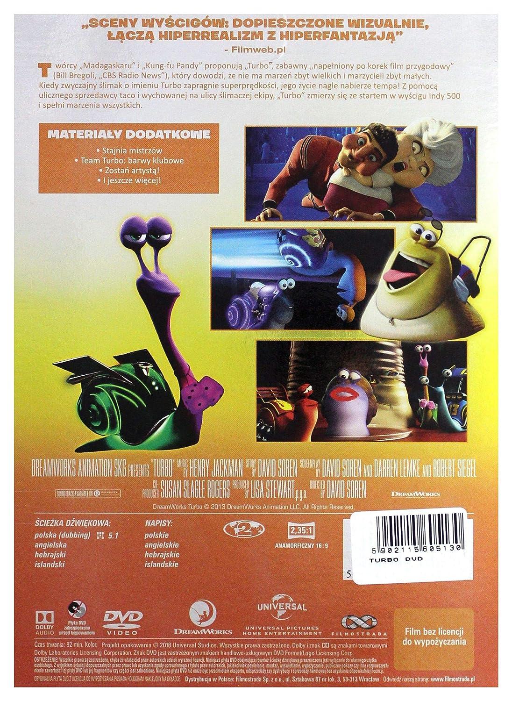 Turbo [DVD] (IMPORT) (No hay versión española): Amazon.es: Ryan Reynolds, Paul Giamatti, Michael Pe?a, Samuel L. Jackson, Luis GuzmÄAn, Bill Hader, ...