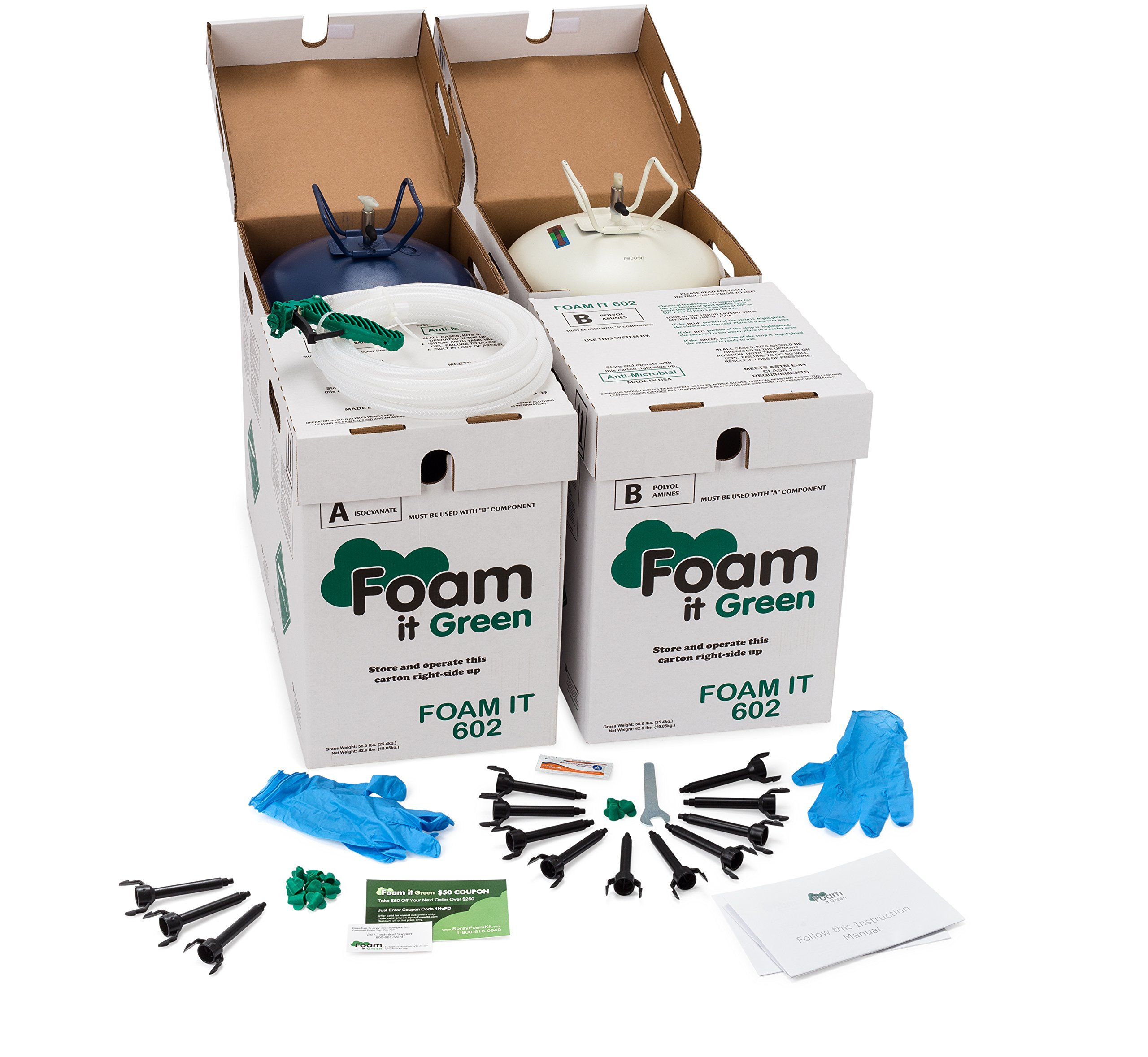 Energy Efficient Home Insulation Kit by Foam It Green