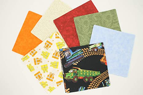 """100 assorted pre cut charm pack  5/"""" squares cotton fabric quilt some vintage #1"""