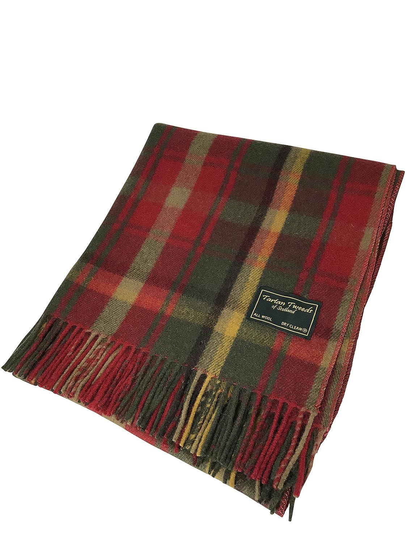Tartan écossais 100 % laine - Couverture de qualité - Descend jusqu au  genou - Disponible en 6 tartans différents  Amazon.fr  Cuisine   Maison e8b79e4112b